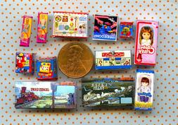 1:24 DOLLHOUSE Miniature Visual Grab Bag Sale Lot of Toys &