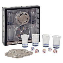 Trashed - Assorted Drinking Games 4–shot glasses & 5â