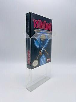 10 NINTENDO .50mm THICK VIDEO GAME NES BOX PROTECTORS CUSTOM