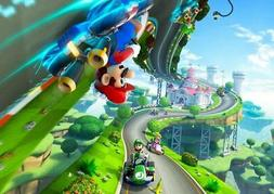 195546 MARIO KART ART of XBOX ONE GAME PC Wall Print Poster