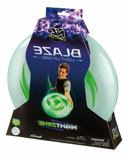 Light Up Frisbee Disc Bright LED Glow Play Toy Game Outdoor