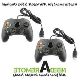 2 For Microsoft Original Xbox Video Game Console Remote Cont