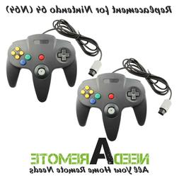 2 For Nintendo N64 Video Game Console Remote Controller