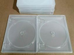2 Original CLEAR Playstation 3  thick replacement Game Cases