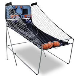 foldable indoor basketball arcade game double electronic