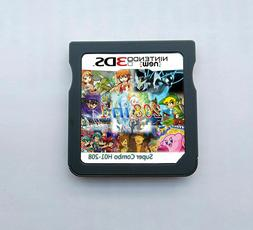 208 in 1 Game Games Cartridge Multicart For Nintendo DS NDS
