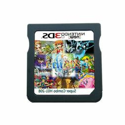 208 in 1 Games Card Cartridge Multicart For 2DS 3DS DS NDS N