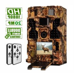20MP Outdoor Hunting Game Trail Camera Waterproof Low Glow N