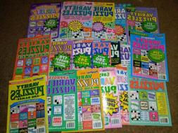 3 New Dell Penny Press Kappa Offical Variety Puzzle Books Ga