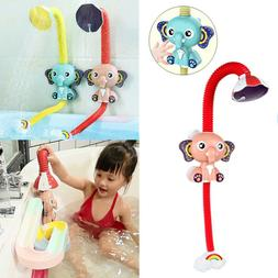 360° Baby Toys Water Game Stop Switch Shower head Shower He
