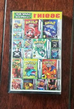 369 games in 1 Nintendo Game Boy Advance GBA DS Lite US SHIP