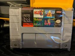 4 in 1 SNES Game Lot Zelda Link To The Past Secret Of Mana 1