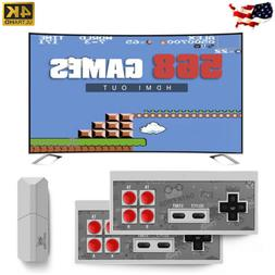 4K TV Retro Game Stick Mini Console 568 Built-in HDMI Games