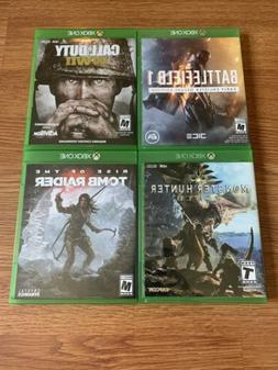 4x Xbox One Games