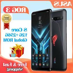 6.59'' ASUS ROG3 Phone 3 865 Plus 12GB+256GB Unlocked Gaming