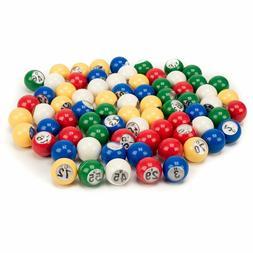 7 8 inch multi color replacement bingo