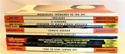 9 OFFICIAL STRATEGY GUIDES ~ 2 ART COLLECTIONS ~ 1 JIMINY'S
