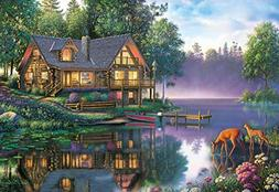 Buffalo Games - Kim Norlien - Cabin Fever - 2000 Piece Jigsa