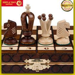 Chess Royal 30 European Wooden Handmade International Set, 1