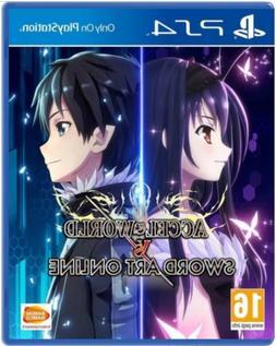 Accel World vs Sword Art Online PS4  Brand New