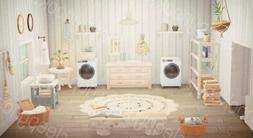 ACN H New Horizons Elegant Farm House Laundry Room Furniture