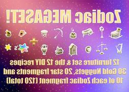 ACNH Zodiac Megaset
