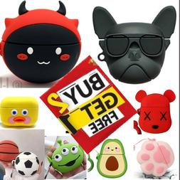 For AirPods PRO Cute 3D Cartoon Design Silicone Case Protect