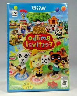 Wii U Animal Crossing: Amiibo Festival  Wii U Only !