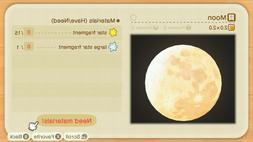 Animal Crossing Celeste Crafting - Moon, Nova Light, Sci-fi