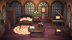 Animal Crossing New Horizon Black Antique Bedroom Furniture