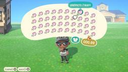 Animal Crossing New Horizons - 1200  Heart Crystals - Instan