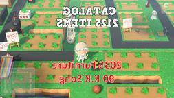 Animal Crossing New Horizons 2125+ CATALOG ISLAND