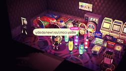Animal Crossing New Horizons - ACNH / 35PC Arcade Games Room
