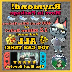 Animal Crossing New Horizons Raymond ✨ FREE ALL-You-Can-Ta