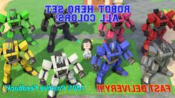Animal Crossing New Horizons Robot Hero Set - ALL 8 Colors B