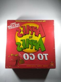 Apples To Apples To Go Family Game Ages 12+ 4-8 Players 30 M