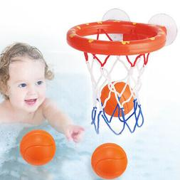 Baby & Toddler Gift Set Bath Toys, Basketball Balls & Hoop,