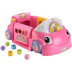 Pink Educational Toy Car For Baby Girl Kids Toddler Daughter