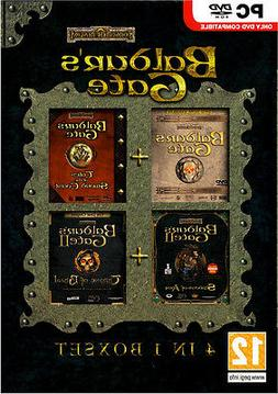 Baldurs Gate 4 in 1 Box Collection Compliation Brand New Sea