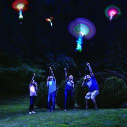 Bamboo Dragonfly Light Shooting Rocket Outdoor Parachute Nig