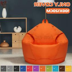 Bean Bag Couch Chair Sofa Cover Indoor Outdoor Gamer Lazy Lo