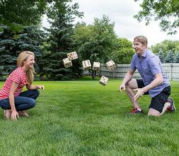 Big Dice Set Large Indoor Outdoor Use Zee Family Fun Game Ni