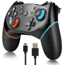 Black Wireless Pro Controller Gamepad Joypad Remote for Nint