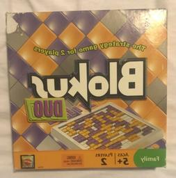 *BLOKUS DUO* by MATTEL - THE STRATEGY Board GAME FOR 2 PLAYE
