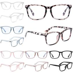 Blue Light Blocking Filter Computer Gaming Glasses Anti-UV W