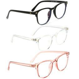 Blue Light Blocking Glasses Computer Gaming Retro Eyewear Vi