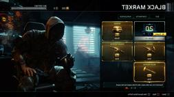 BO3 MODDED ACCOUNT LEVEL 1000 MULTI & ZOMBIES WITH 160+ SUPP