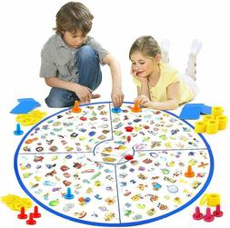 Board Games For Kids Ages 3UP Detective Card Game Family Fun