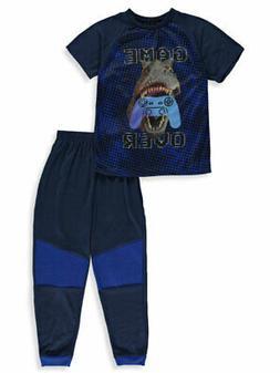 Quad Seven Boys' 2- Piece Game Over Pajamas