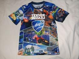 Boys Rocket League Gaming T Shirt size L 10-12